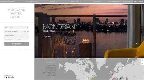 web design inspiration hotel 30 creative hotel website designs for inspiration egrappler
