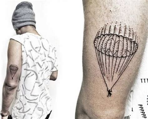 parachute tattoo 40 triceps designs amazing ideas