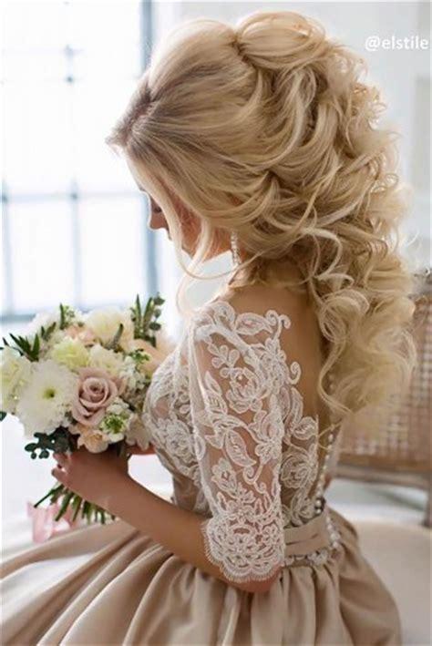 36 stunning half up half down wedding hairstyles lushzone