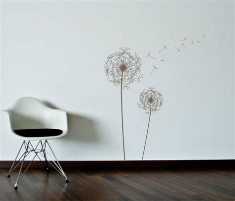dandelion wall sticker dandelion wall decal 2017 grasscloth wallpaper