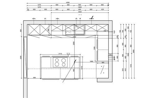 grundriss küche k 252 che planen grundriss dockarm