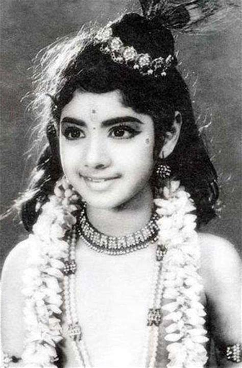 sridevi first movie here s how sridevi began her childhood with films