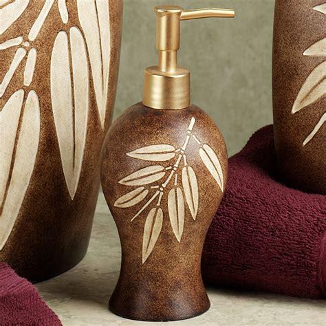 Bamboo Leaf Bath Accessories Leaf Bathroom Accessories