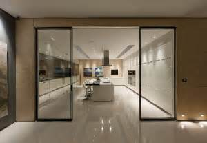 sliding kitchen doors interior luxury kitchen with sliding door design ideas home