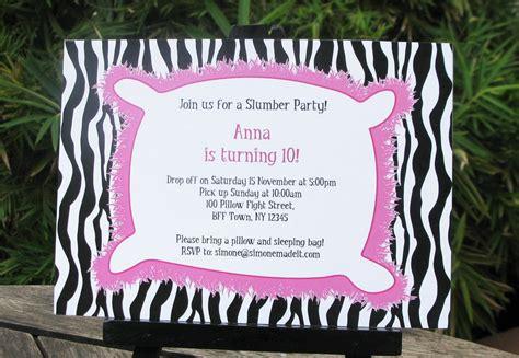 Free Printable Slumber Party Invitation Templates Free Printable Slumber Invitations Templates