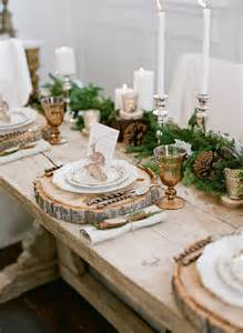 Seasonal Table Runners 17 Best Ideas About Rustic Table Settings On Pinterest