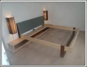 betten zum selberbauen bett selber bauen 140x200 modernes haus stauraumbett