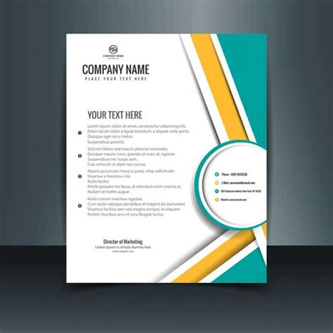 modern business letterhead template 25 free letterhead templates available in psd ms word