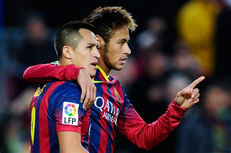 alexis sanchez vs neymar barcelona 4 0 granada getting used to win without messi