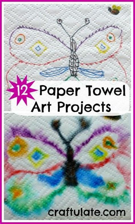 Paper Towel Arts And Crafts - 12 paper towel projects paper kid and