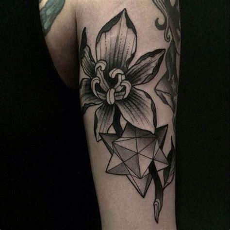 black iris tattoo 150 iris designs with meaning flowertattooideas