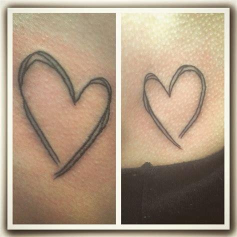 tattooed heart x factor sister tattoo sisters tattoo heart love abbie wayte