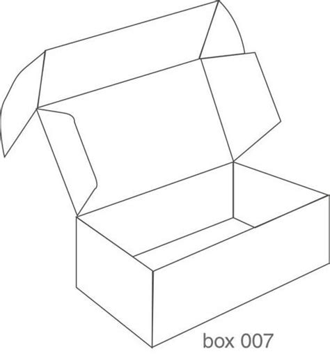 templates for boxes with lids gallery for gt box packaging design templates arta 223