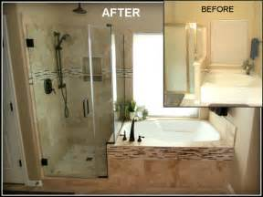 good baker master bathroom remodels before after