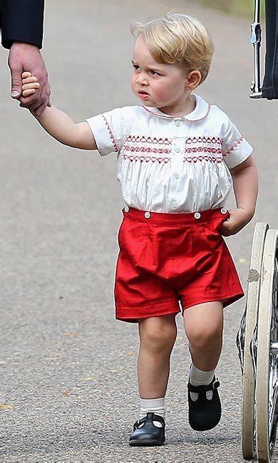 Prince George Wardrobe by Why Princess Charlotte S Wardrobe Doesn T Include Dresses