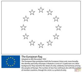 coloring page union flag european union flag coloring page free printable