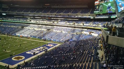 lucas oil stadium sections lucas oil stadium section 304 indianapolis colts