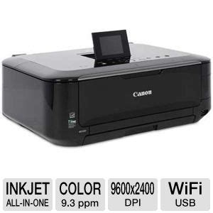 Printer Canon Pixma Mg5320 Inkjet Photo All In One canon pixma mg5320 wireless photo all in one inkjet photo printer print scan copy up to