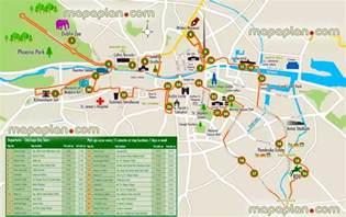 dublin map maps update 21051488 dublin tourist attractions map
