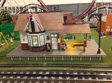 new depot from woodland scenics o railroading on