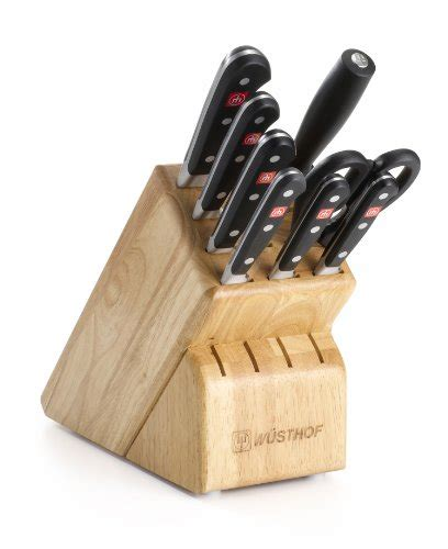 sale wusthof classic 9 cutlery set with storage