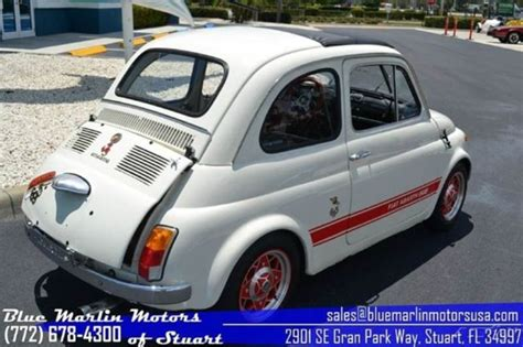 1969 abarth used manual coupe classic fiat 500 1969 for sale