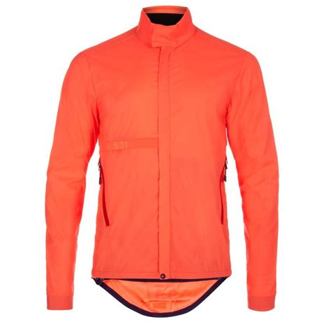 Paul Smith 531 Orange Wind And Shower Resistant Packable