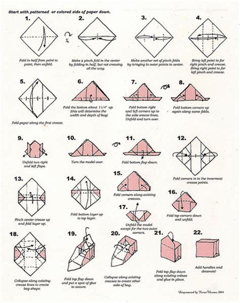 Origami Purse Pattern - origami purse folding flickr photo