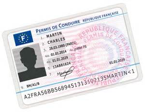 certificat d immatriculation permis de conduire ville