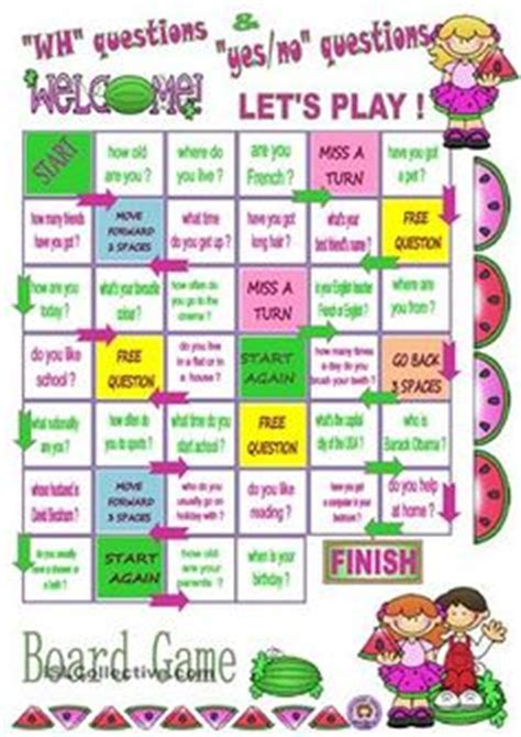 printable board games for english learners printable board games for learning english printable 360