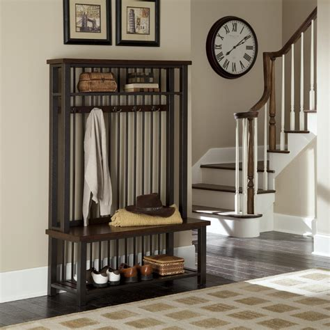 Coat Rack Entryway Furniture Home Styles Cabin Creek Tree Home Furniture