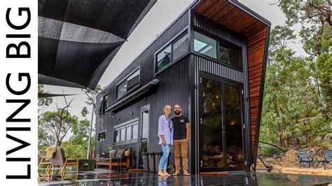 ultra modern tiny house  blow  mind youtube