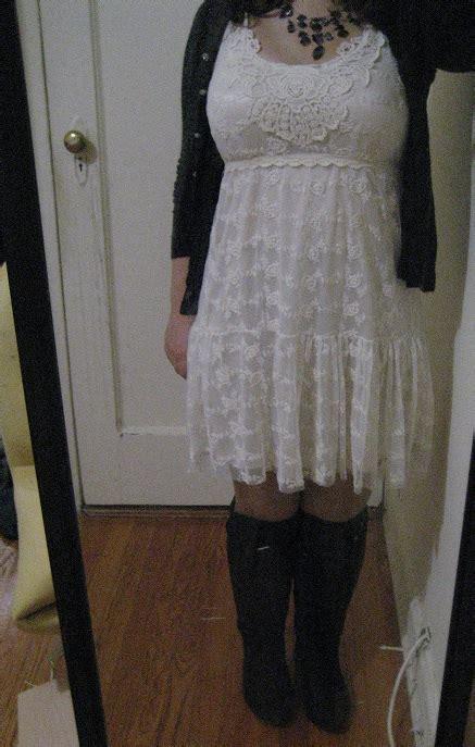 Dress Import Murah 1879 Black black dress and cardigan sweater