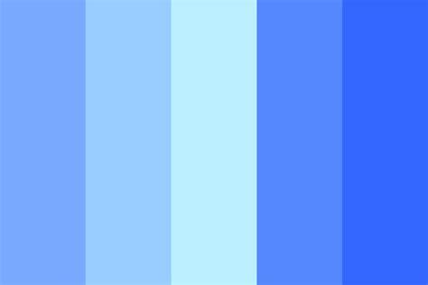 colors of blue blues color palette