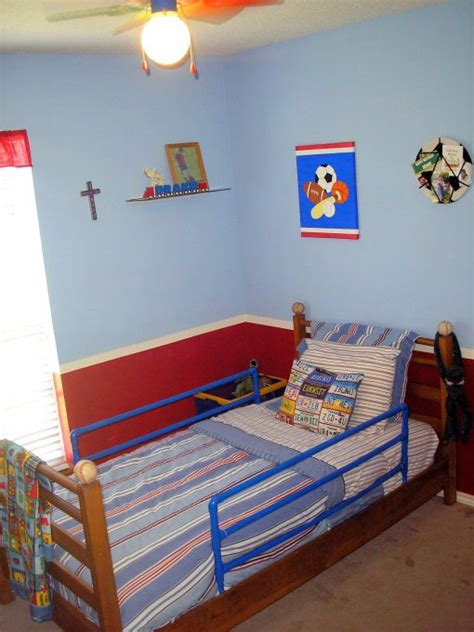 red white and blue sports themed boys room interior 15 best images about quadir bedroom on pinterest cool