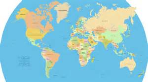 World Map Of Countries by Vector World Map A Free Accurate World Map In Vector Format