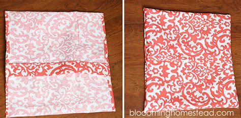 Easy Diy Cover by Easy Diy Pillow Slipcovers Blooming Homestead