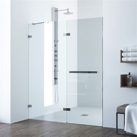 Adjustable Shower Door Vigo Nyos Adjustable Frameless Shower Door
