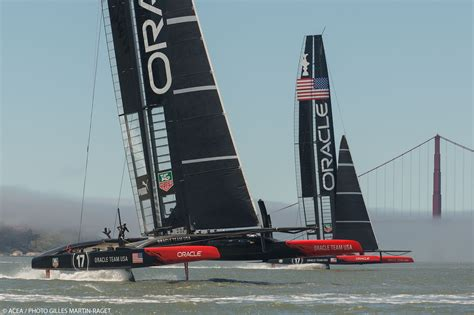 oracle racing boat americas cup oracle racing guilty yachting world