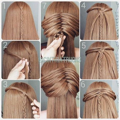 how to do easy hairstyles for kids step by step coiffure attach 233 e avec une tresse centrale d inspiration