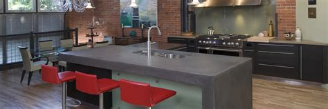 Kitchen Counter Top Designs Concrete Countertops How To Articles Photos And Designs