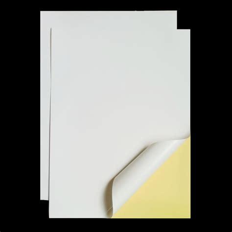 sticker printing paper a4 aliexpress com buy 20 pcs a4 210mm x 297mm white self