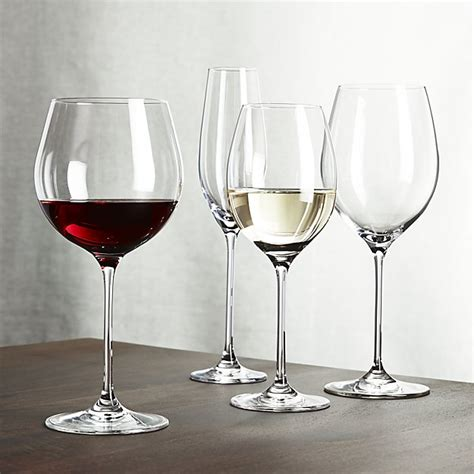 wine glasses oregon wine glasses crate and barrel