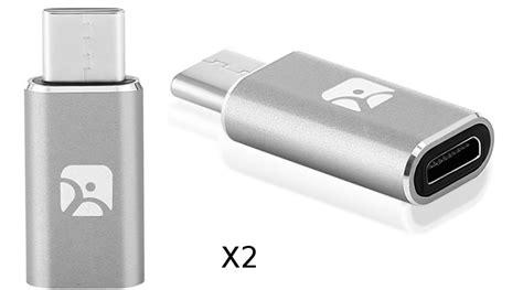 Kabel Data Vio X Tipe C usb type c to microusb adapter by meenova