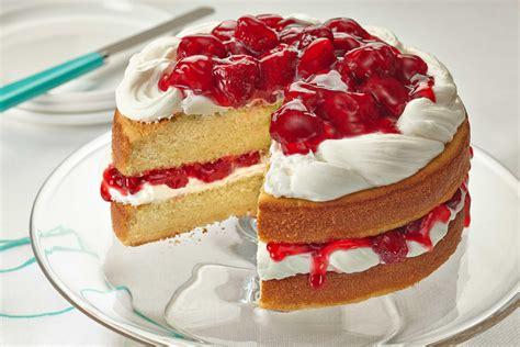 cake vanilla strawberry vanilla cake duncan hines 174