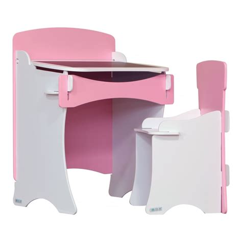 Sale Kidsaw Kdp Girls Pink And White Traditional Desk And Pink And White Desk