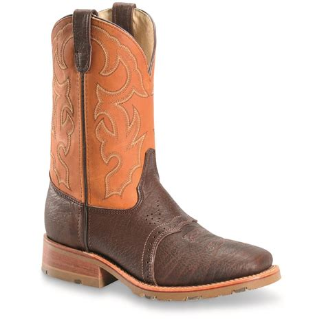 mens cowboy boots made in usa h s 11 quot made in the usa roper cowboy boots