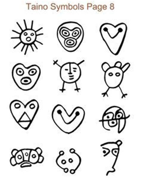 imagenes simbolos tainos taino symbols book tattoo ideas tattoo 资料图 pinterest
