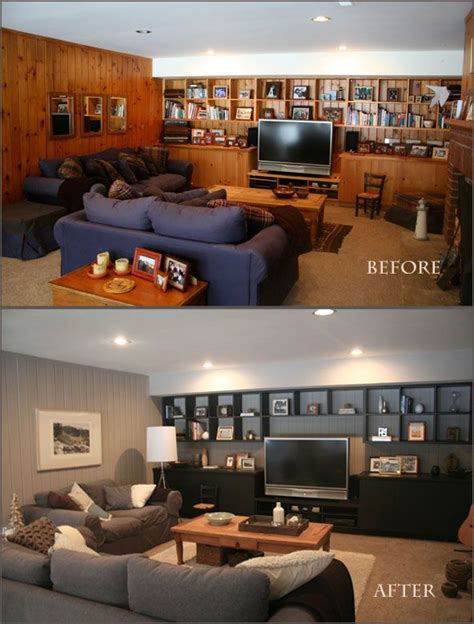 painting paneling in basement best 25 wood paneling makeover ideas on