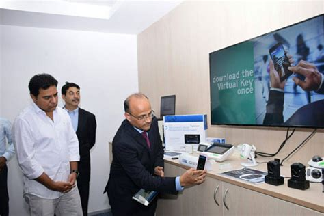 design experiment hyderabad inauguration of united technologies corporation hyd facility